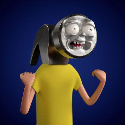 Hammer_Morty_model